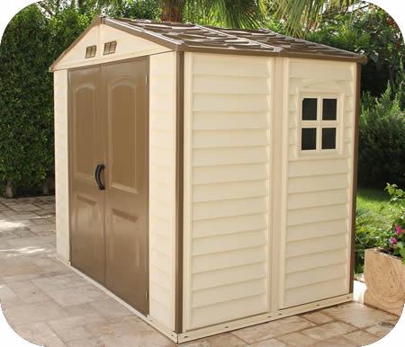 duramax 8x5 storeall vinyl storage shed w floor - Garden Sheds Vinyl