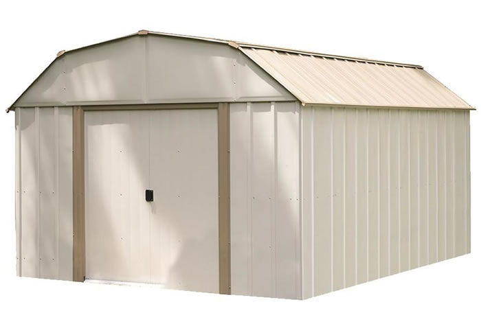Arrow 10x14 Lexington Metal Storage Shed Kit