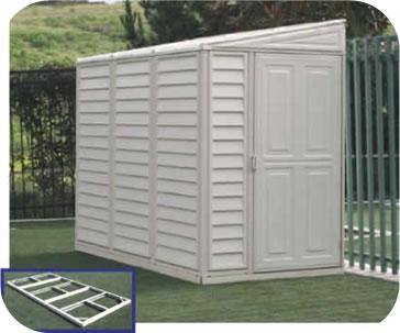 Hollans models: Metal shed base kit