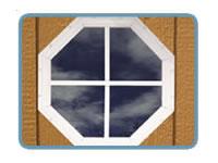 Storage Shed Kit Gable Window