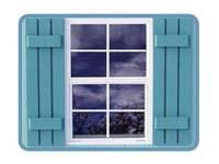 Storage Shed Kit Window